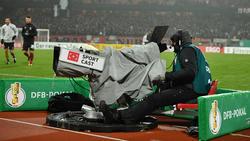Drei Partien des DFB-Pokal-Achtelfinals werden live im Free-TV gezeigt