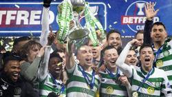 Celtic krönt sich zum schottischen Ligapokal-Sieger