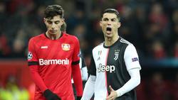 Bayer Leverkusen verliert 0:2 gegen Juventus Turin