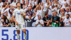 Jonas Wind soll das Interesse von Eintracht Frankfurt und Gladbach geweckt haben