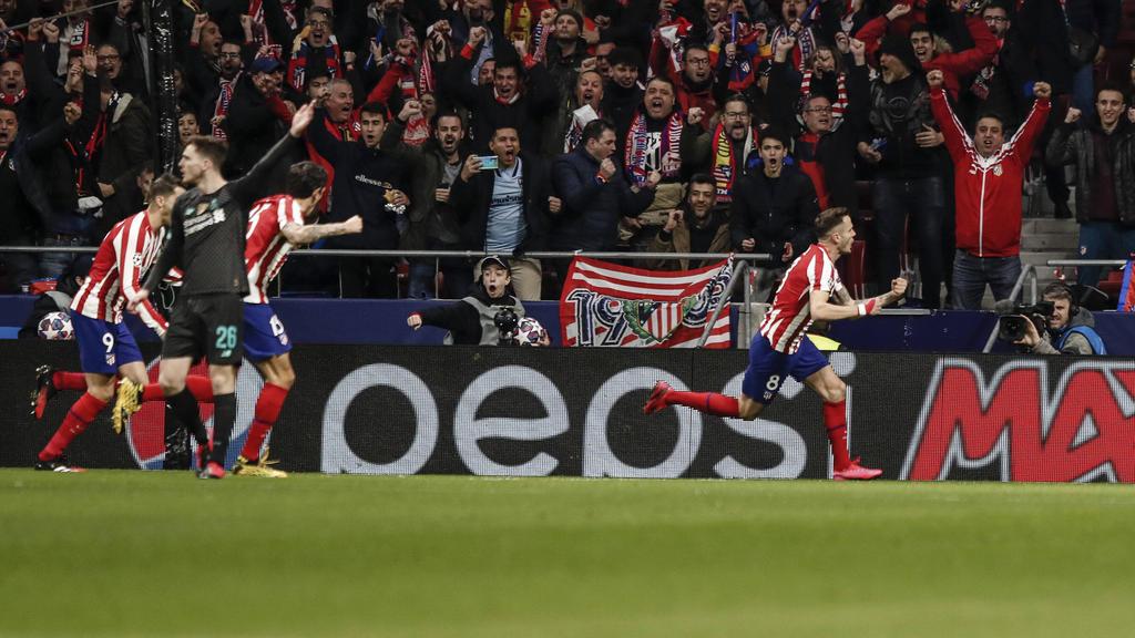 Atlético Madrid hat den FC Liverpool bezwungen