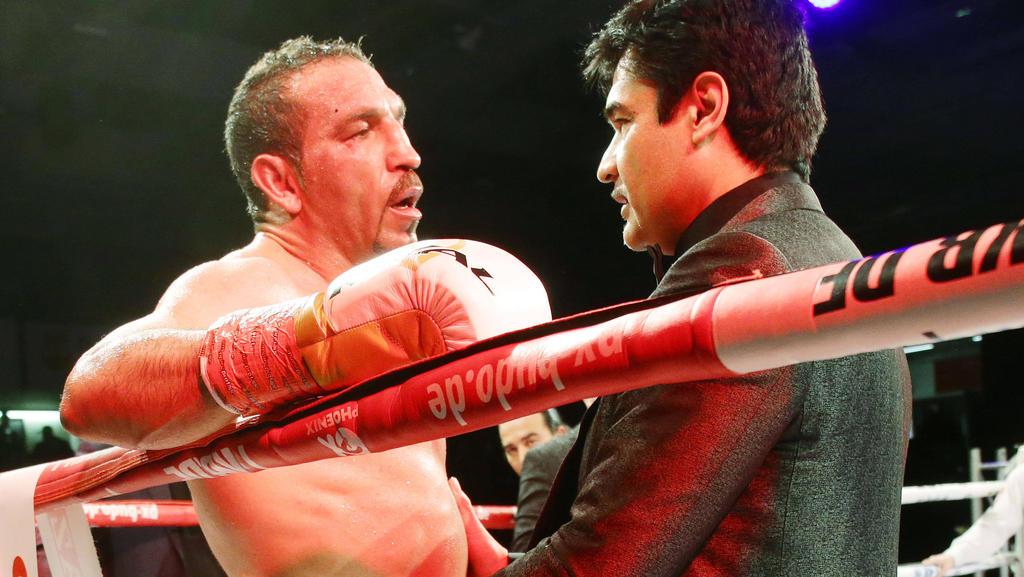 Firat Arslan hatte gegen seinen 22 Jahre jüngeren Gegner keine Chance
