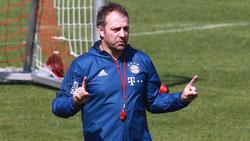 Hansi Flick hat über die Lage beim FC Bayern gesprochen