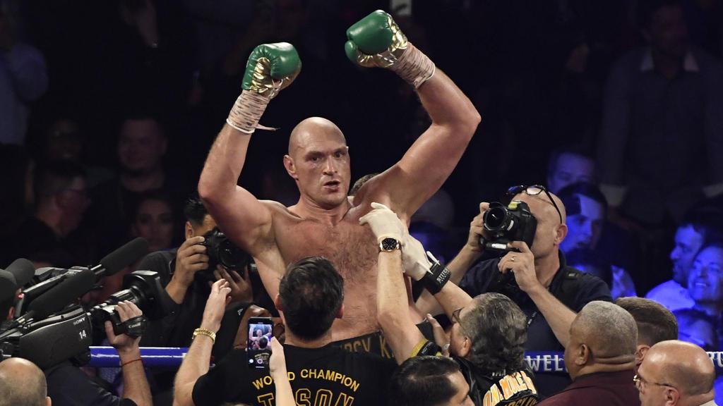 Tyson Fury macht im und neben dem Ring von sich reden