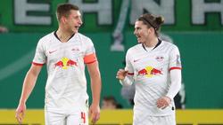 Marcel Sabitzer (r.) löst Willi Orban als Kapitän von RB Leipzig ab