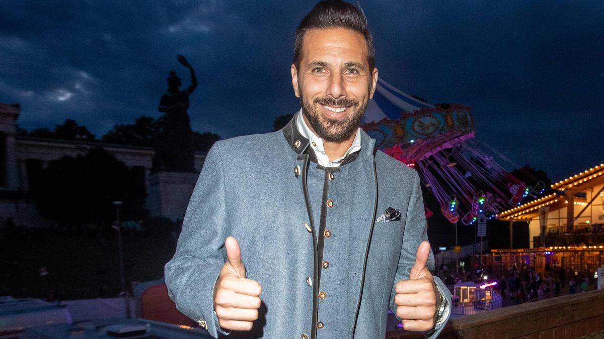 Claudio Pizarro nach Abgang von Werder Bremen zurück beim FC Bayern