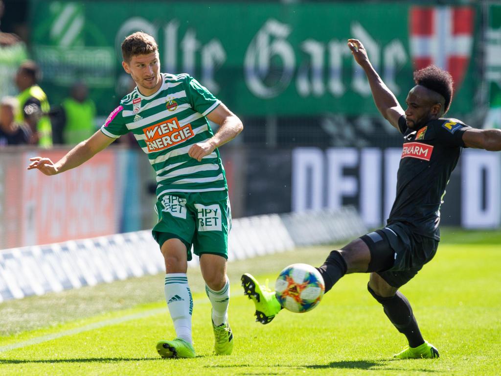 Nach fünf Jahren bei Rapid zurück zur Admira: Stephan Auer (l.)