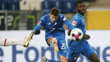 Andrej Kramaric steht mit seiner TSG vor dem Spiel gegen Augsburg