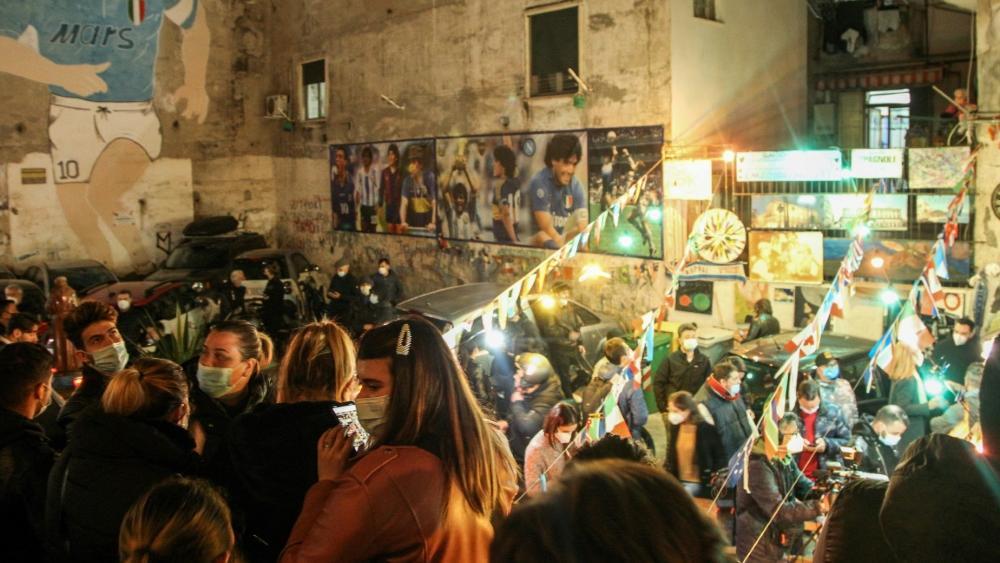 Neapel trauert um seinen Helden