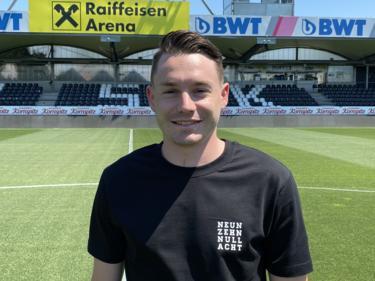 Florian Flecker im Paschinger Stadion