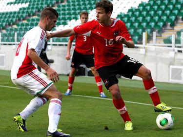 Dem Rapidler Louis Schaub gelang gegen Ungarn das 1:0 und das 2:0 durch Robert Žulj bereitete er vor