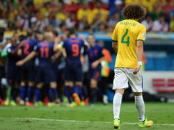 David Luiz ist völlig frustriert
