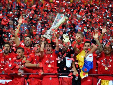 Zum vierten Mal auf dem Gipfel: der FC Sevilla