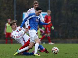 Marcel Gottschling (r.) wechselt zu Hansa Rostock