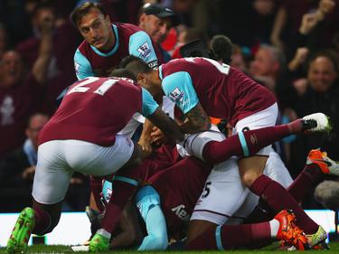 El West Ham inglés se marcha del partido de ida con una derrota por la mínima. (Foto: Getty)