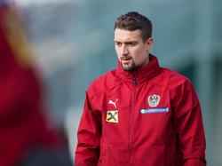 Stefan Ilsanker im Training