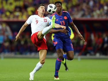 Yerry Mina rindió a un nivel top durante el Mundial. (Foto: Getty)