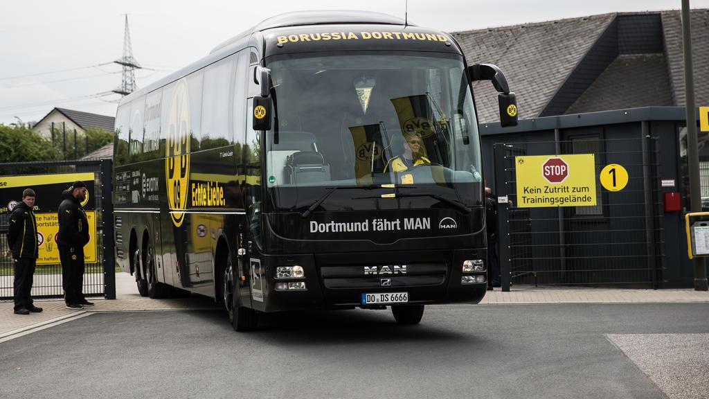 Der BVB rüstet seinen Mannschaftsbus auf