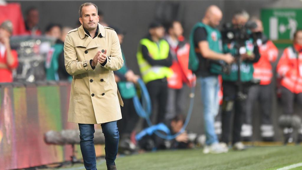 Manuel Baum muss gegen Hoffenheim rotieren