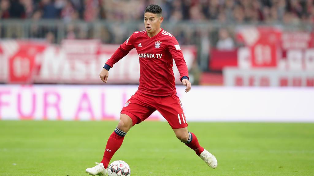 Verlässt JamesRodríguez den FC Bayern?