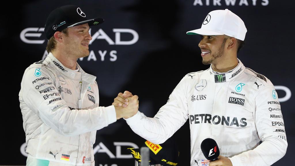 Nico Rosberg drückt seinen ehemaligen Teamkollegen die Daumen