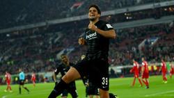 Eintracht Frankfurt gewinnt bei Fortuna Düsseldorf