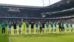 Werder Bremen feierte gegen Freiburg einen umkämpften Sieg