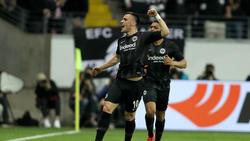 Filip Kostić erzielte die 1:0-Führung für Eintracht Frankfurt