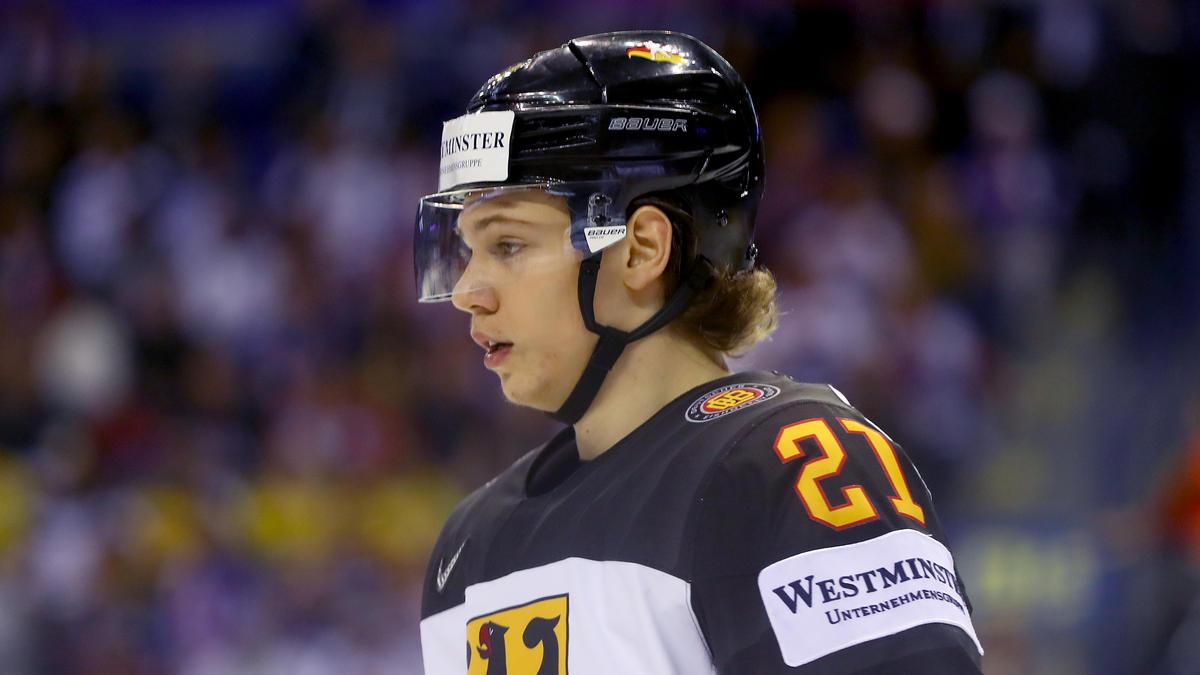 Moritz Seider will sein Abenteuer in der NHL beginnen