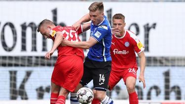 Arminia Bielefeld feierte gegen Holstein Kiel einen versöhnlichen Abschluss