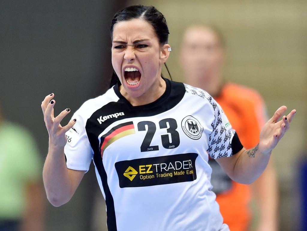 Deutsche Damen feiern Auftakt-Sieg bei der EM