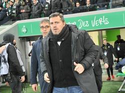 Oscar Garcia bei St. Etienne