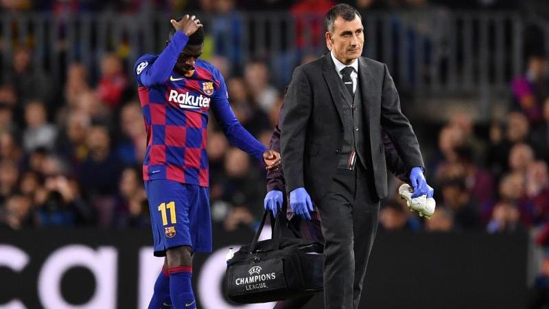 Ousmane Dembélé musste gegen den BVB vom Feld