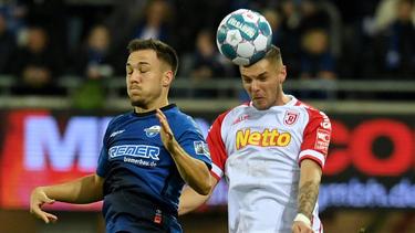 Kein Sieger im Spiel SC Paderborn vs. Jahn Regensburg