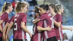 Knapper Sieg für die deutsche Frauen-Nationalmannschaft