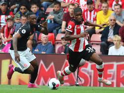 Kevin Danso (r.) wird Southampton wieder verlassen