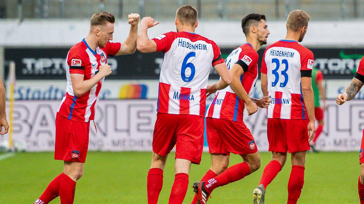 Wichtige drei Punkte für den 1. FC Heidenheim