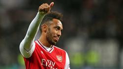 Aubameyang spielt seit 2018 für Arsenal