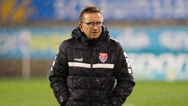 Norbert Meier beendet seine Trainer-Karriere