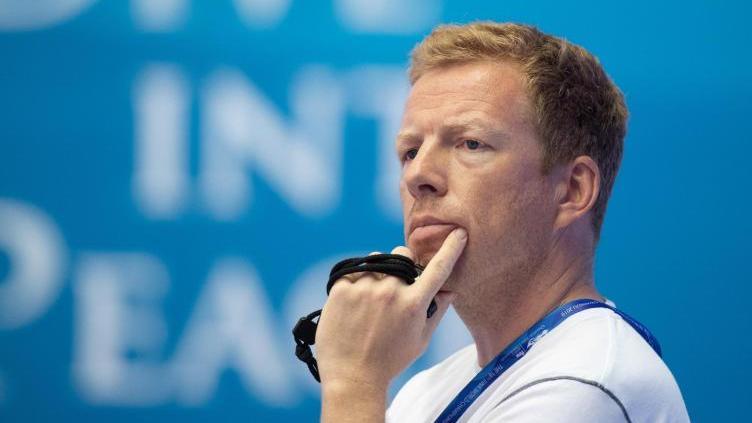 Bernd Berkhahn, Teamchef der deutschen Schwimmer