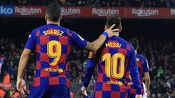 Ein Bild aus vergangenen Tagen: Suárez und Messi im Trikot des FC Barcelona