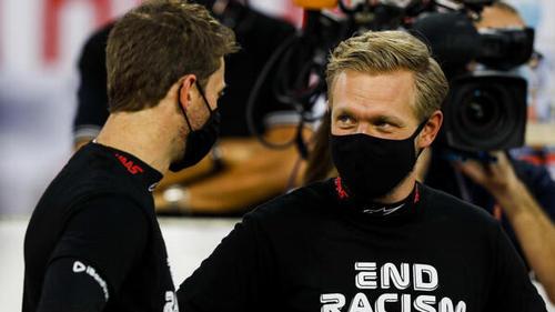 Kevin Magnussen machte sich große Sorgen um seinen Teamkollegen