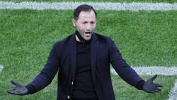 Spartaks Trainer Domenico Tedesco wurde heftig beleidigt