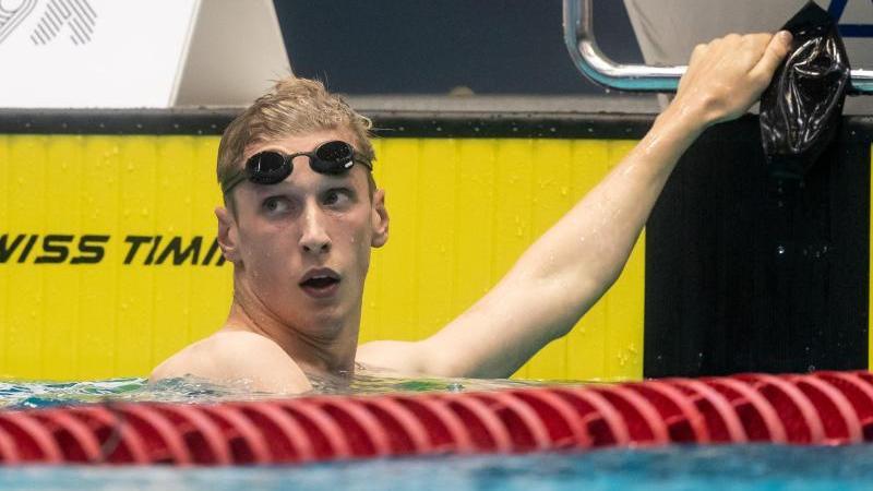 Missfällt die Unruhe im Verband: Schwimm-Weltmeister Florian Wellbrock