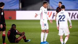 Real Madrid lässt Punkte gegen San Sebastian liegen