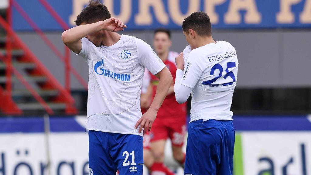 Der FC Schalke blamierte sich einmal mehr