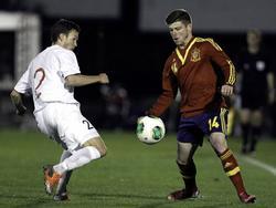 U21-Freundschaftsspiel zwischen Spanien und Norwegen