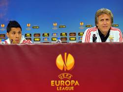 La conferenza stampa della vigilia in casa Benfica
