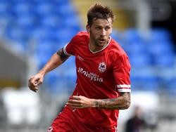 Guido Burgstaller verabschiedet sich von Cardiff City