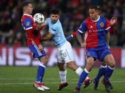 Sergio Agüero gegen Basel